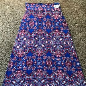Red, white, and blue!!!!! Maxi skirt. Never worn