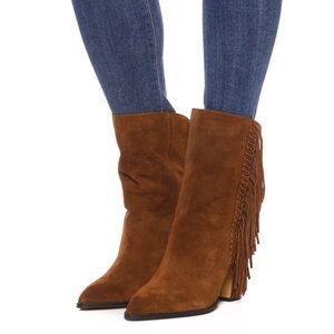 Dolce Vita Ileen boot 8 fringe brown