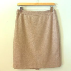 J.Crew Wool The Pencil Skirt Size 4