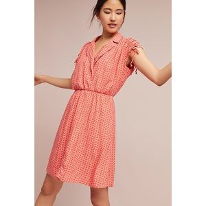 Maeve Carlotta Ruched Shirtdress