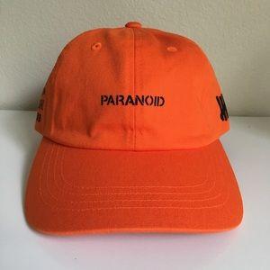 678a13237487a Anti Social Social Club Accessories - Anti Social Social Club x Undefeated  Paranoid Cap