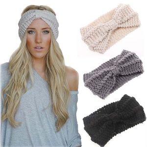 🆕Rylee Crochet Knit Turban Headband Ear Warmer