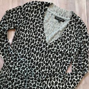 Express// Animal Print Sweater