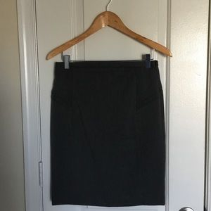 Express charcoal grey skirt