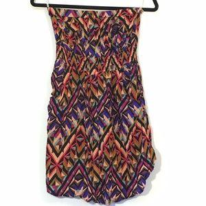 Forever 21 Strapless Mini Dress