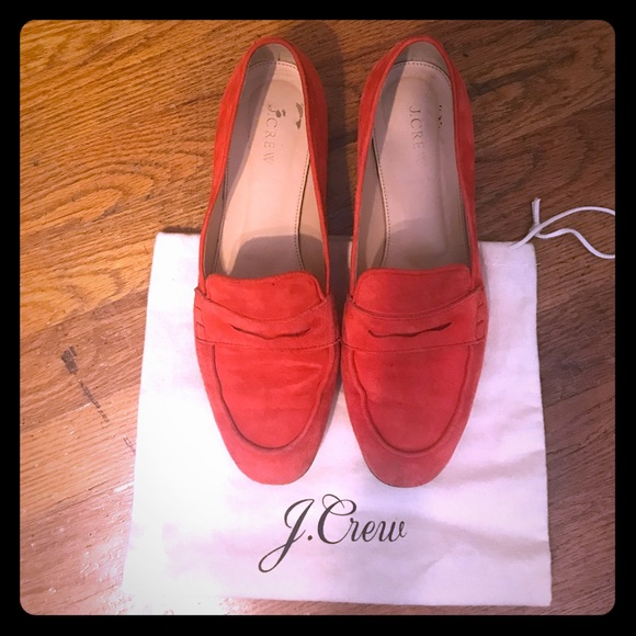 c8f8d8120e6 J. Crew Shoes - J.Crew Suede Charlie Penny Loafers