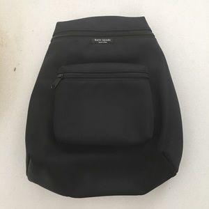 Kate Spade Small Black Nylon Backpack