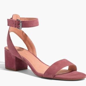 Madewell Alice Sandal in Suede