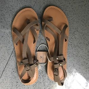 Strappy, casual sandals, NWT!!