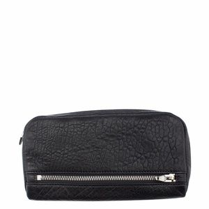 Alexander Wang Fumo Black Leather Wallet (136978)