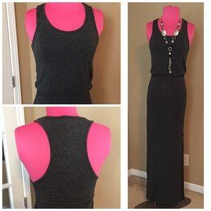 Charcoal Grey Maxi Dress