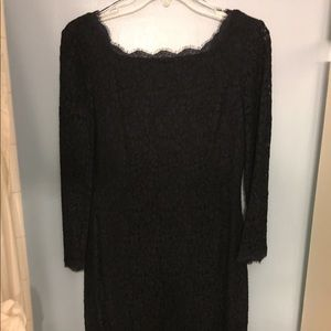 Cache Lace long sleeved dress