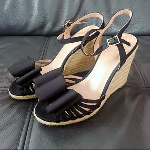 Kate Spade Biana Espadrille Wedge Sandal Sz 6.5