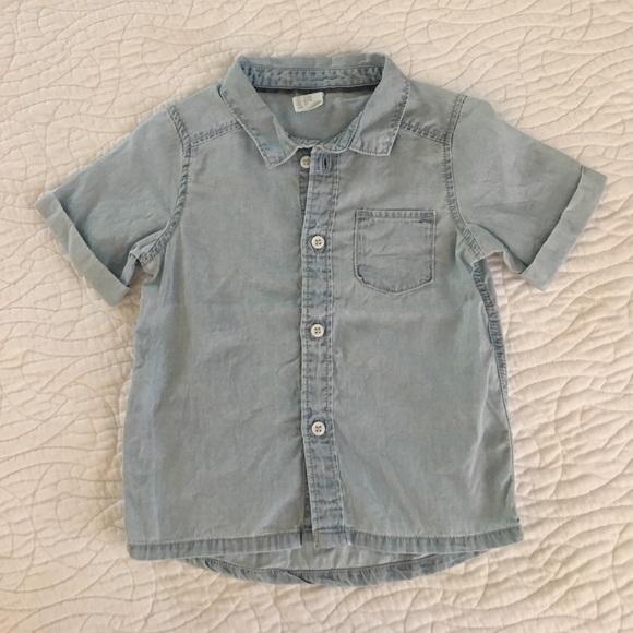 7cdc6b19073a7 H M Other - Baby boy jean shirt