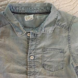 58b22f91f2b2e H M Shirts   Tops - Baby boy jean shirt