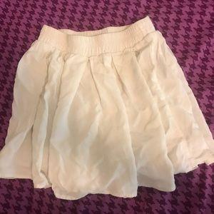 White brandy Melville skirt