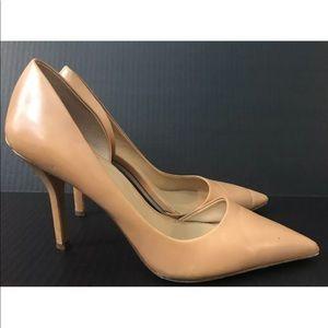 Michael Kors Nude High Heel Pump shoe Gold 10