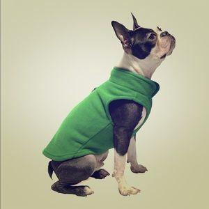 Fleece Dog Vest