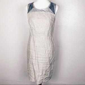Ann Taylor Sleeveless sequin dress 4 LOFT