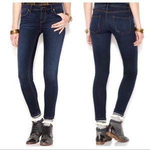 Free People Roller Crop Mid Rise Skinny Jeans