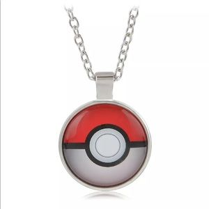 🆕Pokémon Pokeball Pendant Necklace