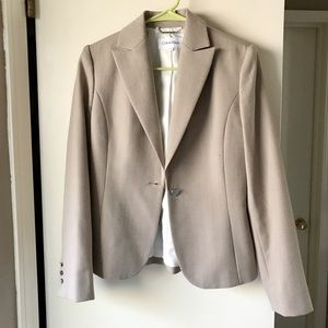 Calvin Klein wool heather color jacket