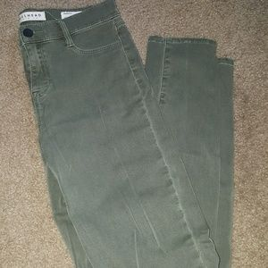 Pacsun Olive Green Jeggings