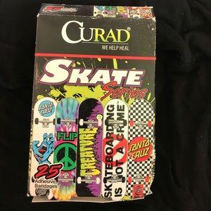 Skateboard bandaids