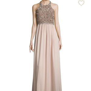 ❤️ Parker Black Cassey Embellished Open-Back Gown