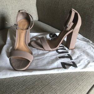 Schutz Enida Heel in Blush ~ s 5.5 ~ gently worn