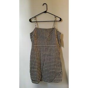 Shift Gingham Dress