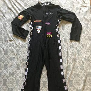 NASCAR one piece jumpsuit  Halloween costume