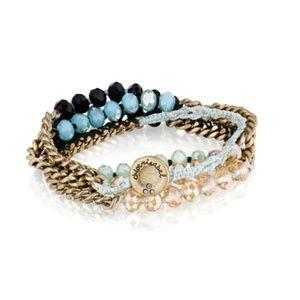 Chloe & Isabel Bead + Chain Multi-Wrap Bracelet