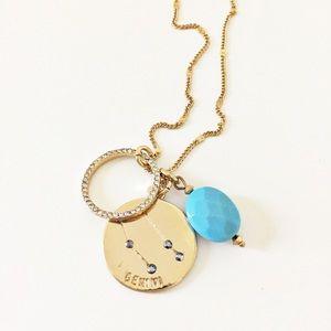 Express Gemini zodiac necklace