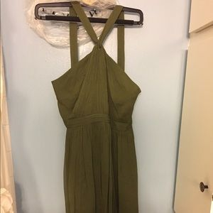 JCREW dress, olive green