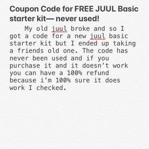 JUUL basic starter kit