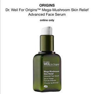 Origins mega mushroom skin relief face serum, new!