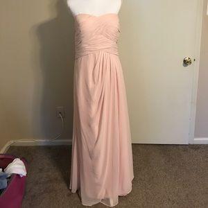 Dresses & Skirts - Pink Chiffon Bridesmaid Dress