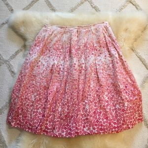 Club Monaco Size 2 Floral Skirt
