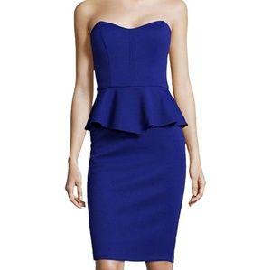 NWT Bisou Bisous Peplum Dress