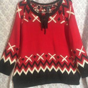 Great Winter Sweater - Soft, Warm & Roomy Plus Sz