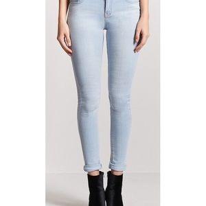 Forever21 Light Blue Skinny Jeans