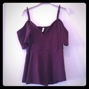 Free people off the shoulder tops gently used