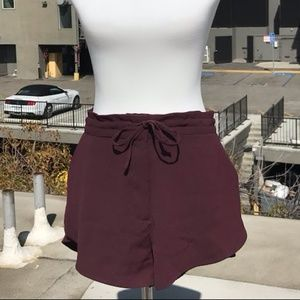 H&M Drawstring Flowy Shorts