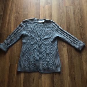 DKNY Cable Knit Cardigan