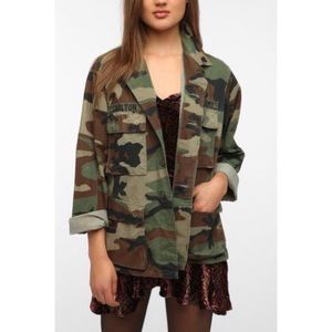 Urban Outfitters urban renewal Army surplus jacket
