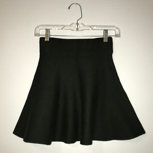 Forest Green High Rise Circle Skirt. By Forever 21