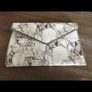 Rebecca Minkoff Leo Zippered envelope clutch