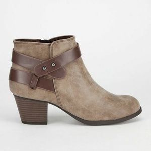WRAP ANKLE BOOTS