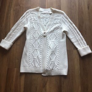 DKNY Cable Knit Sweater
